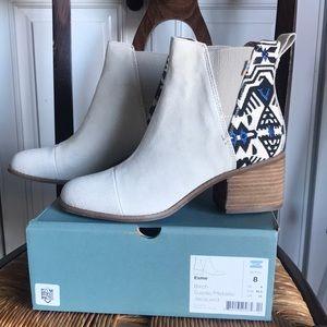 TOMS Esme Boots - Birch Suede (NIB)